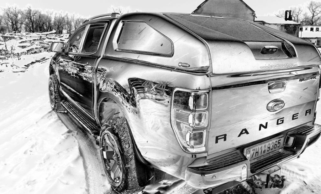 hardtop ford ranger model sport